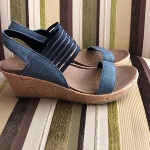 Skechers Luxe Foam Wedge Heels
